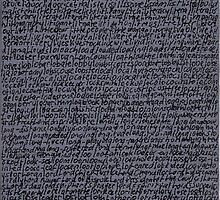"""""""Dictionary 36"""" (limpet-loyal toast) by Michelle Lee Willsmore"""