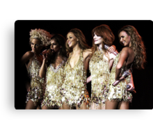 Girls Aloud in Bournemouth 2008 Canvas Print