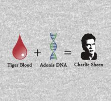 Tiger Blood + Adonis DNA = Charlie Sheen by peabody00
