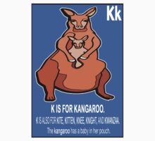 K IS FOR KANGAROO by SOL  SKETCHES™