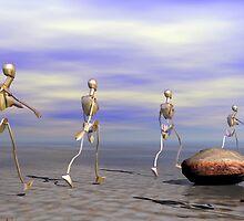 Formation by Sandra Bauser Digital Art