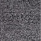 """""""Dictionary 69"""" (woodbine-zymology) by Michelle Lee Willsmore"""
