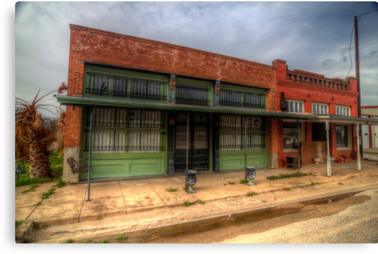 Welcome to City Hall (Abbott, Texas) by Terence Russell