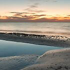 Sun Fades over Port Phillip - Panograph by Sean Farrow