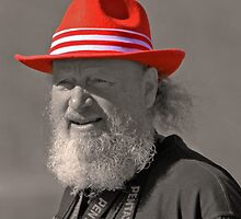 MAN IN THE RED HAT by photoeasy