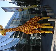 Lego Giraffe by Kris Bleakley