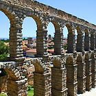 Aqueduct of roman in Segovia (Spain),2 by IKGM