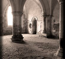 The Chamber - Lacock Abbey by Adam North