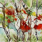 Autumn Forest by Joyce Ann Burton-Sousa