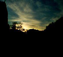 Sunset at Cheddar by Sophie Croser