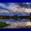 The Fishing Lake ~ Framed ~ by Sandra Cockayne