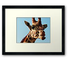 chewy! Framed Print