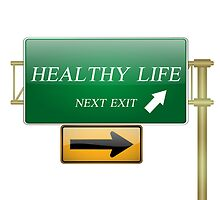 healthy life concept by rajeshbac