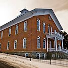 Madison County (Montana) Court House in Sepia by Bryan D. Spellman