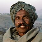 Proud Trader - Pushkar India by Robert van Koesveld