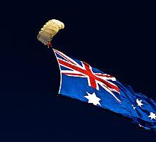 Flag Drop - Avalon 2011 by Nick Sage