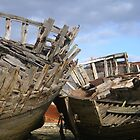 couple de bateaux au repos by seccotine