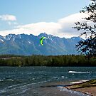 Alaska Windsurfer by Sally Winter
