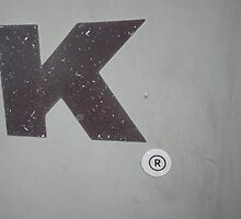 The Letter K by FeeBeeDee