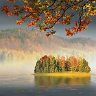 Autumn Island by Igor Zenin