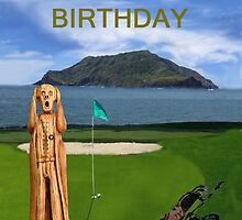 The Scream World Tour Golf  Happy Birthday by Eric Kempson