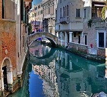 Rio and Bridge de Ca' Widman - Venice by paolo1955