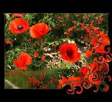 PoppyCollage by RosiLorz