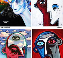 'Inner Portrait' series by Jerry Kirk