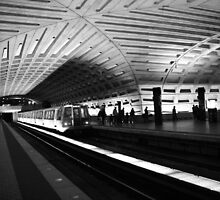 DC Metro with Train by searchlight