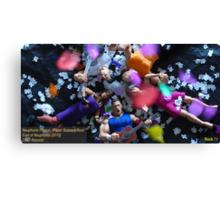 "Neuphonic Plague: ""Paper Scissors Rock"" Canvas Print"