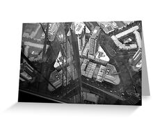 The View Down from Eureka Tower Greeting Card