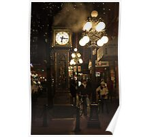 The Gastown Clock Poster