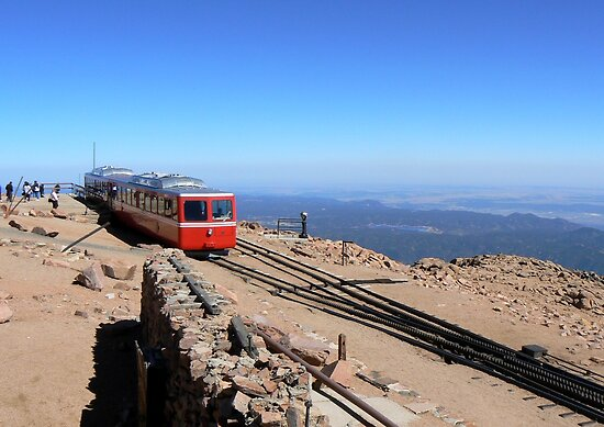 Pikes Peak Summit and Cog Railway by Graeme  Hyde