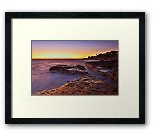 Lurline Bay Sunrise Framed Print