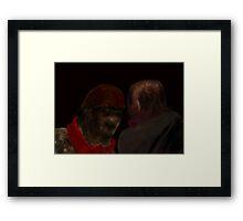 """""""The Listener"""" Framed Print"""
