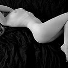 White on black by Roger Mann