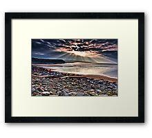 Lahinch Beach, County Clare, Ireland Framed Print