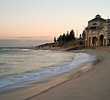 Indiana Tea Rooms ~ Cottesloe Beach by Pene Stevens