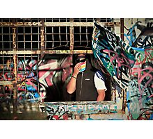 Graffiti Artist Photographic Print