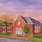 Williamsburg Presbyterian Church 2010 by johnpbroderick