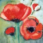 POPPYS IN THE FIELD by Heidi Mooney-Hill