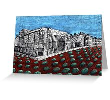 272 - PHOENIX THEATRE, BLYTH - DAVE EDWARDS - INK & COLOURED PENCILS - 2007 - 2009 Greeting Card