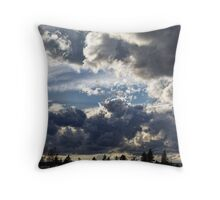 Chasing the Storm Throw Pillow