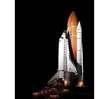 STS-134 Rollout - Endeavour's Final Mission Photographic Print