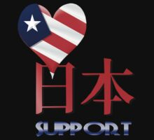 American Support Japan Shirts by Lotacats