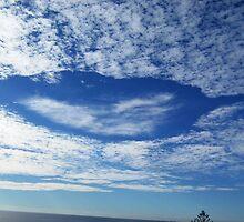 Leaf Cloud - Alex Heads, Sunshine Coast by peachblossom