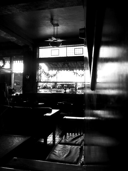Cheers ~ Black & White by Lucinda Walter
