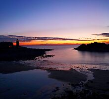 Sunset Portpatrick Harbour by derekbeattie
