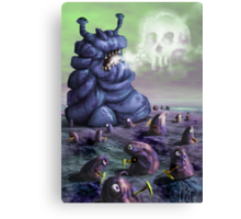 Holiday in Dystopia Canvas Print