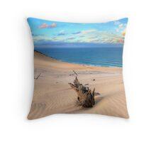 Carlo Sand Blow - Rainbow Beach Throw Pillow